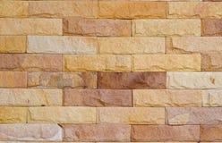 Die Ziegelstein-Wand Stockbild