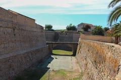 Die Zitadelle in Ajaccio Stockbild