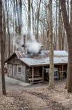 Die Zuckerbretterbude in Bendix-Holz lizenzfreie stockfotos