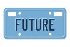 Die Zukunft lizenzfreie abbildung