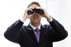 Die Zukunft des Geschäfts stockbild