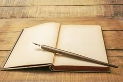 Die Zusammenfassung des Schreibens lizenzfreie stockbilder