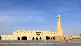 Die Zustands-Moschee in Doha Katar stockfotografie