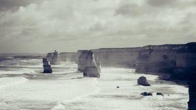 Die zwölf Apostel Stockbild