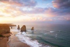 Die zwölf Apostel, Victoria, Australien Lizenzfreies Stockfoto