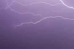 Die Zweige des Blitzes Lizenzfreies Stockfoto