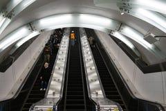 Die zweite Alleen-U-Bahn 24 Stockbild