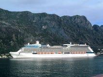 Die Zwischenlage im adriatischen Meer stockfoto