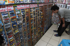 Diecast Stock Photo