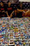 Diecast. Various diecast toys sold in a bazaar in the city of Solo, Central Java, Indonesia Stock Photography