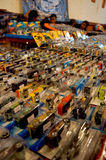 Diecast. Various diecast toys sold in a bazaar in the city of Solo, Central Java, Indonesia Royalty Free Stock Image