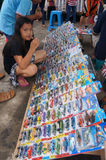 Diecast. Various Diecast toys sold in an open market in the city of Solo, Central Java, Indonesia Royalty Free Stock Photos