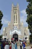 Diecezja Medak kościół Południowy India Zdjęcia Stock