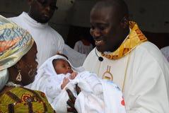 DIECI ANNI del SACERDOTE Priesthood Fotografie Stock Libere da Diritti