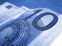Dieci euro Immagine Stock