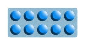 Dieci pillole Immagine Stock Libera da Diritti