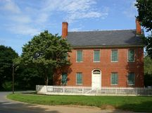 diecinueveavo C. Casa federalista Imagen de archivo libre de regalías
