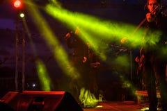 Diecinueveavo concierto del festival de la juventud de Aydilge Sarp On May Fotografía de archivo