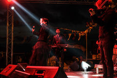 Diecinueveavo concierto del festival de la juventud de Aydilge Sarp On May Fotos de archivo