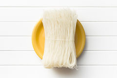 Died rice noodles Stock Photo