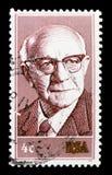 Diederich, serie总统画象,大约1975年 库存照片