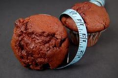 Dieet 3 van de muffin Stock Afbeelding