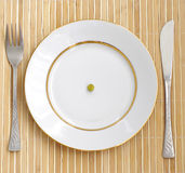 Dieet. crisis. Royalty-vrije Stock Foto