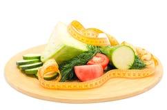Dieet gemengde groenten Stock Foto's