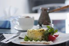Dieet gestremde melkpudding Royalty-vrije Stock Foto's