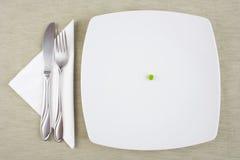 Dieet maaltijd Royalty-vrije Stock Foto's