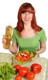 Dieet salade Royalty-vrije Stock Afbeeldingen