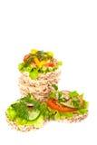 Dieet sandwiches. Stock Foto's
