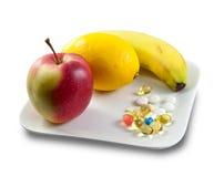 Dieet supplement royalty-vrije stock afbeeldingen