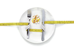 Dieet supplement Stock Afbeelding