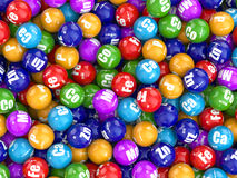 Dieet supplementen Verscheidenheidspillen Vitaminecapsules Stock Foto's