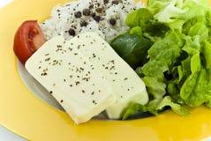 Dieet-vegetarische heerlijke sala Royalty-vrije Stock Foto