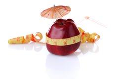Dieet voor controle van gewicht Stock Fotografie