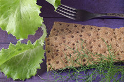 Dieet voor het gezonde eten Stock Foto's