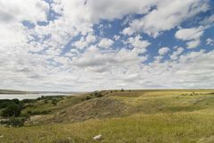 Diefenbaker Lake Stock Image