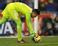 Diego Alves of Valencia CF Stock Images