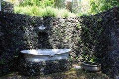 Diego Aragona Pignatelli Cortess bath  Stock Images