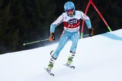 Diego Cappadozzi in Audi Fis Alpine Skiing World-Gia van Kopmen's stock afbeelding