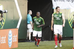 Diego Chara and Kenny Cooper Royalty Free Stock Photo