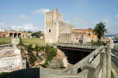 Diego Columbus palace ( alcazar ) in Santo Domingo Stock Photography
