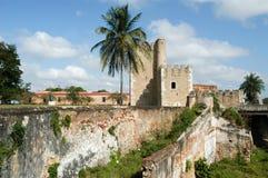 Diego Columbus palace ( alcazar ) in Santo Domingo Stock Photo