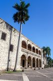 Diego Columbus palace, Santo Domingo Stock Photo