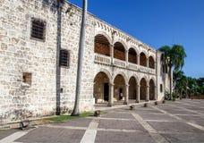Diego Columbus palace, Santo Domingo Stock Photos