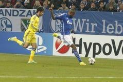 Diego Costa FC Schalke v FC Chelsea 8eme Final Champion League Stock Images