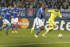 Diego Costa FC Schalke v FC Chelsea 8eme Final Champion League Royalty Free Stock Images