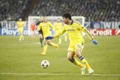 Diego Costa FC Schalke v FC Chelsea 8eme Final Champion League Stock Images
